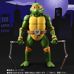 (IN STOCK) S.H.Figuarts - Teenage Mutant Ninja Turtles - Michelangelo (Tamashii Web Exclusive) - Marvelous Toys - 4