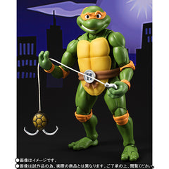 (IN STOCK) S.H.Figuarts - Teenage Mutant Ninja Turtles - Michelangelo (Tamashii Web Exclusive) - Marvelous Toys - 5