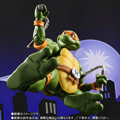 (IN STOCK) S.H.Figuarts - Teenage Mutant Ninja Turtles - Michelangelo (Tamashii Web Exclusive) - Marvelous Toys - 6