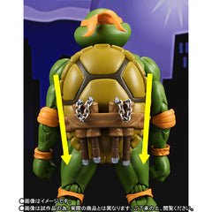 (IN STOCK) S.H.Figuarts - Teenage Mutant Ninja Turtles - Michelangelo (Tamashii Web Exclusive) - Marvelous Toys - 7