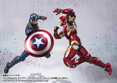 (IN STOCK) S.H. Figuarts - Captain America Civil War - Captain America & Iron Man Mark 46 Special Box Set ToysRUs Japan Exclusive - Marvelous Toys - 4