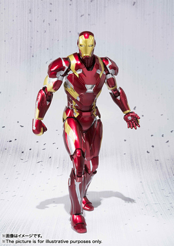 (IN STOCK) S.H. Figuarts - Captain America Civil War - Captain America & Iron Man Mark 46 Special Box Set ToysRUs Japan Exclusive - Marvelous Toys - 12