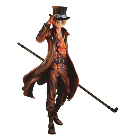 Banpresto - Prize Item 35444 - One Piece Sculptures - Sabo (Burning Color Ver.)