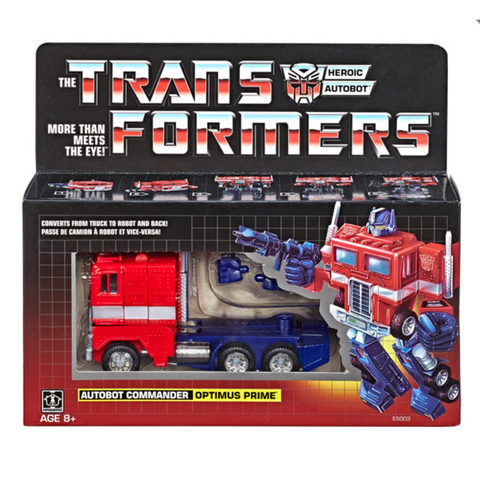 Hasbro - Transformers: Generation One - Optimus Prime (Reissue)