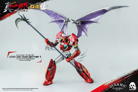 Threezero - ROBO-DOU - Getter Robo: The Last Day - Shin Getter 1 (Metallic Color Ver.)