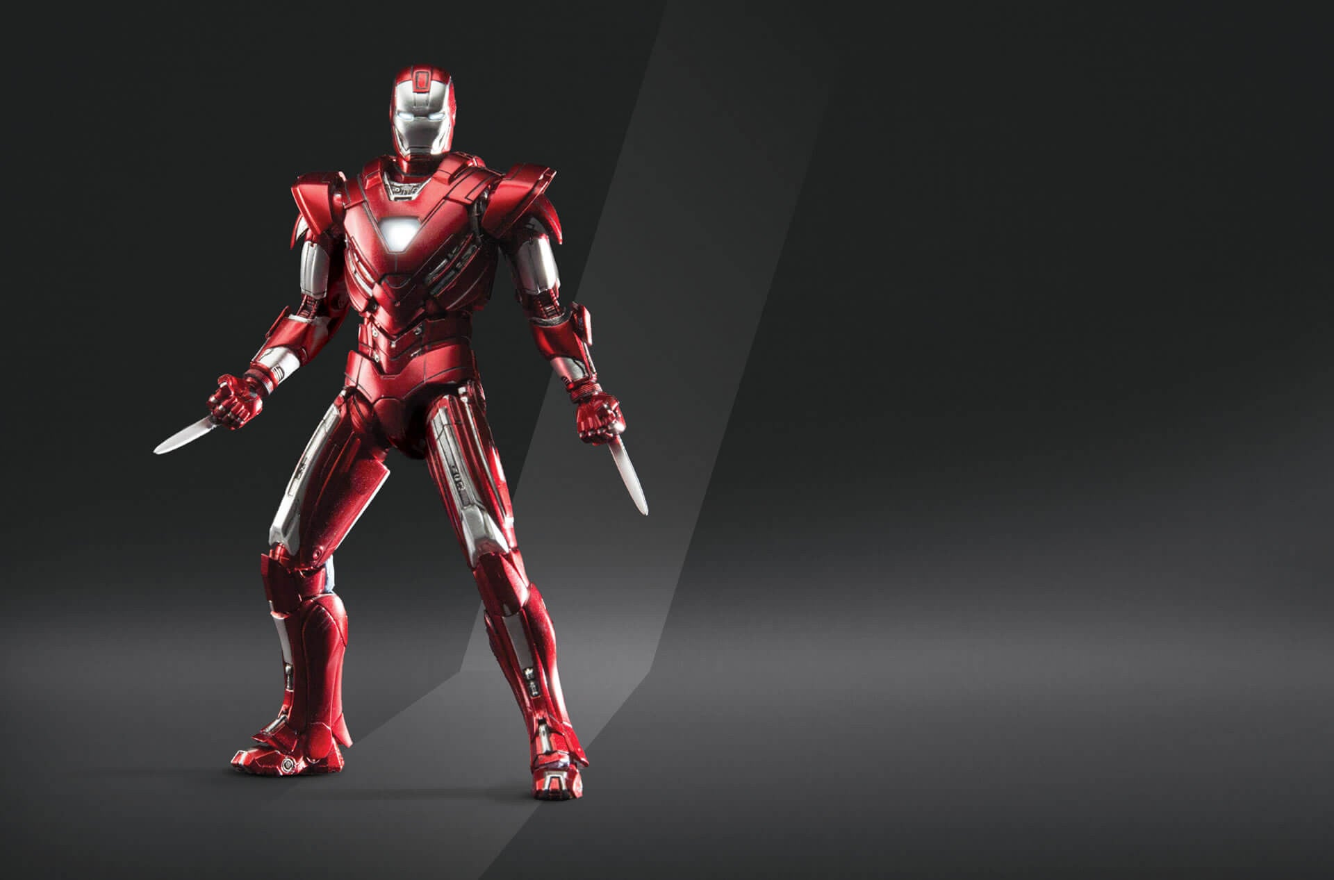 Comicave Studios - Omni Class: 1/12 Scale Iron Man Mark XXXIII Silver Centurion - Marvelous Toys - 3