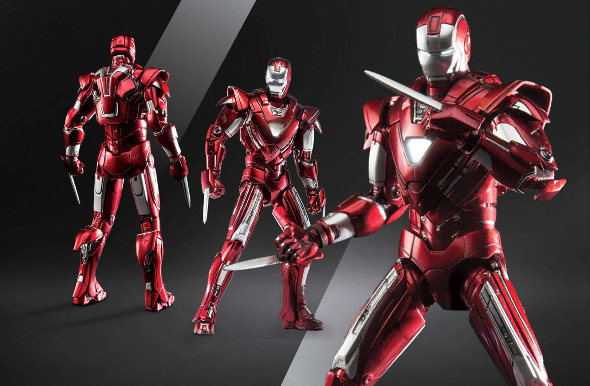 Comicave Studios - Omni Class: 1/12 Scale Iron Man Mark XXXIII Silver Centurion - Marvelous Toys - 2