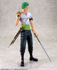 (IN STOCK) Roronoa Zoro 10th Limited Version - One Piece - Portrait of Pirates DX -Megahouse - Marvelous Toys - 3