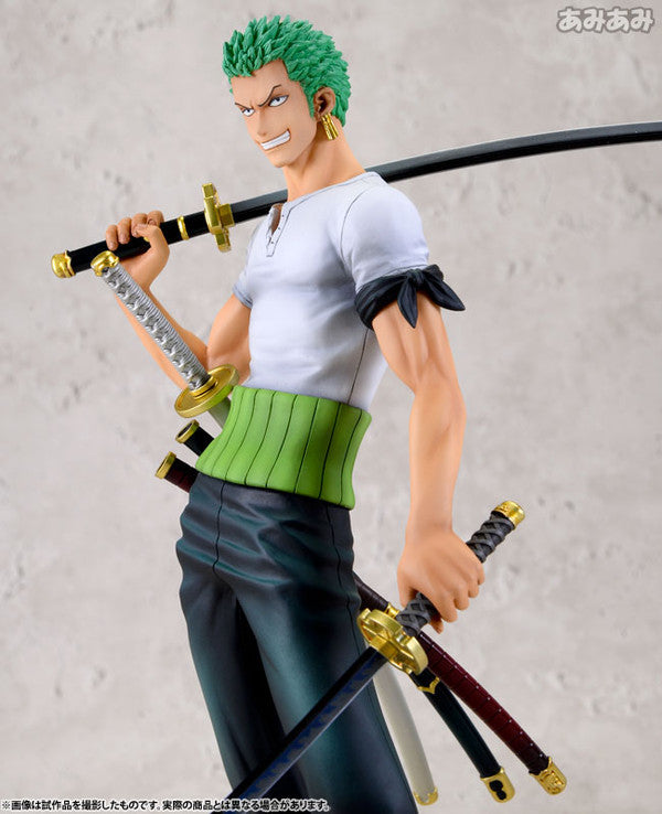 (IN STOCK) Roronoa Zoro 10th Limited Version - One Piece - Portrait of Pirates DX -Megahouse - Marvelous Toys - 1