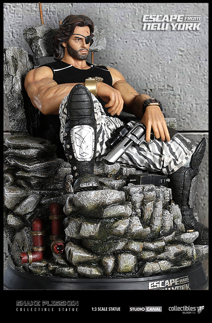 Silver Fox Collectibles - Escape from New York - Snake Plissken Statue (1/3 Scale)