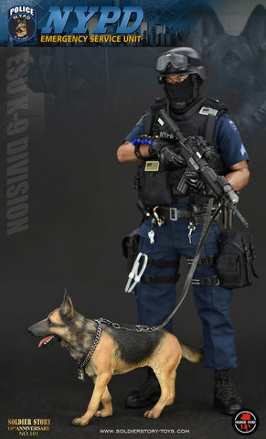 Soldier Story - SS101 - NYPD Emergency Service Unit (K-9 Division)