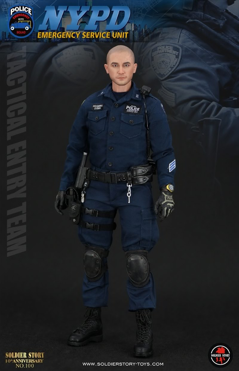 Soldier Story - SS100 - NYPD Emergency Service Unit (Tactical Entry Team)