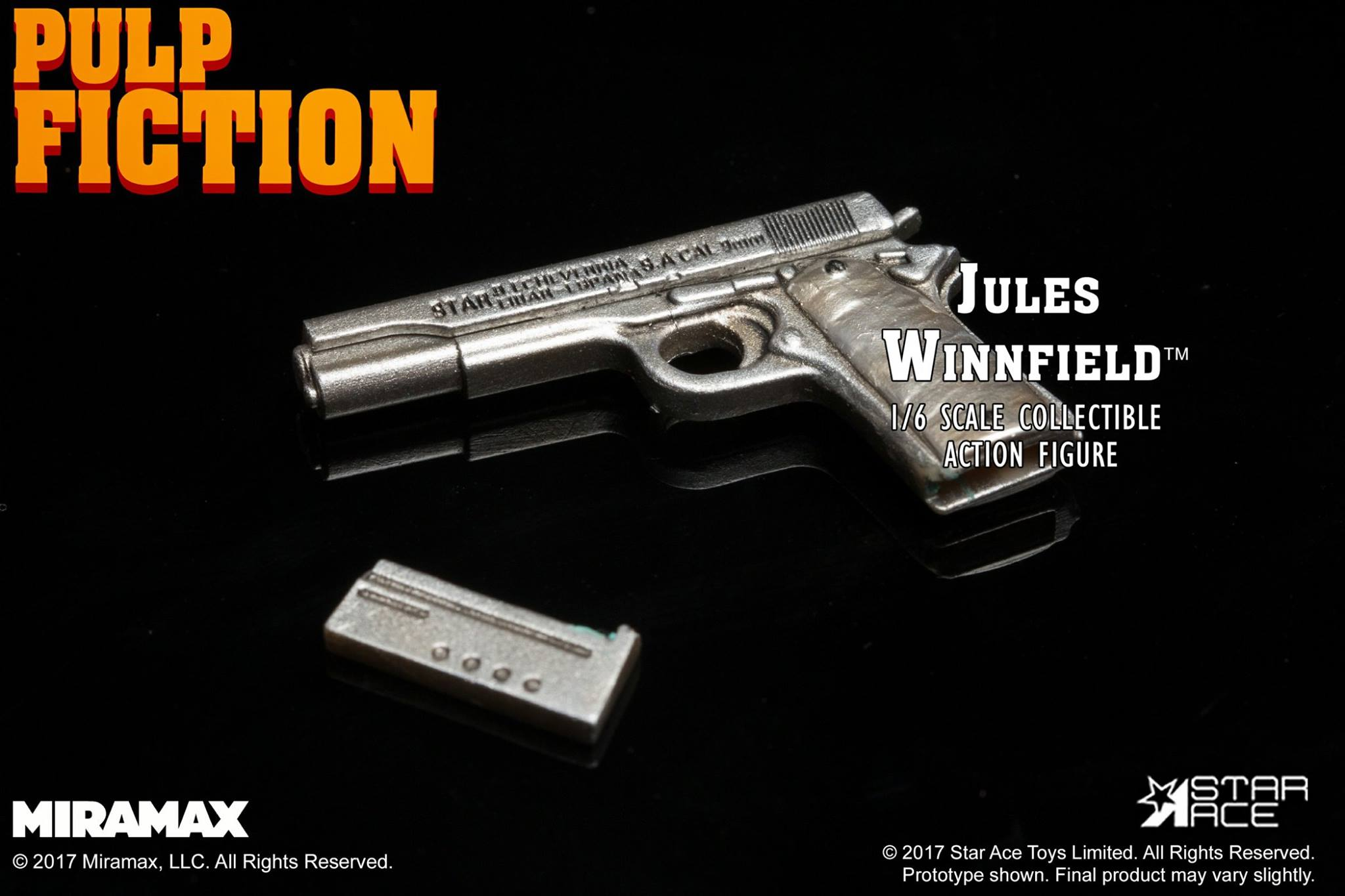 Star Ace Toys - Pulp Fiction - Jules Winnfield