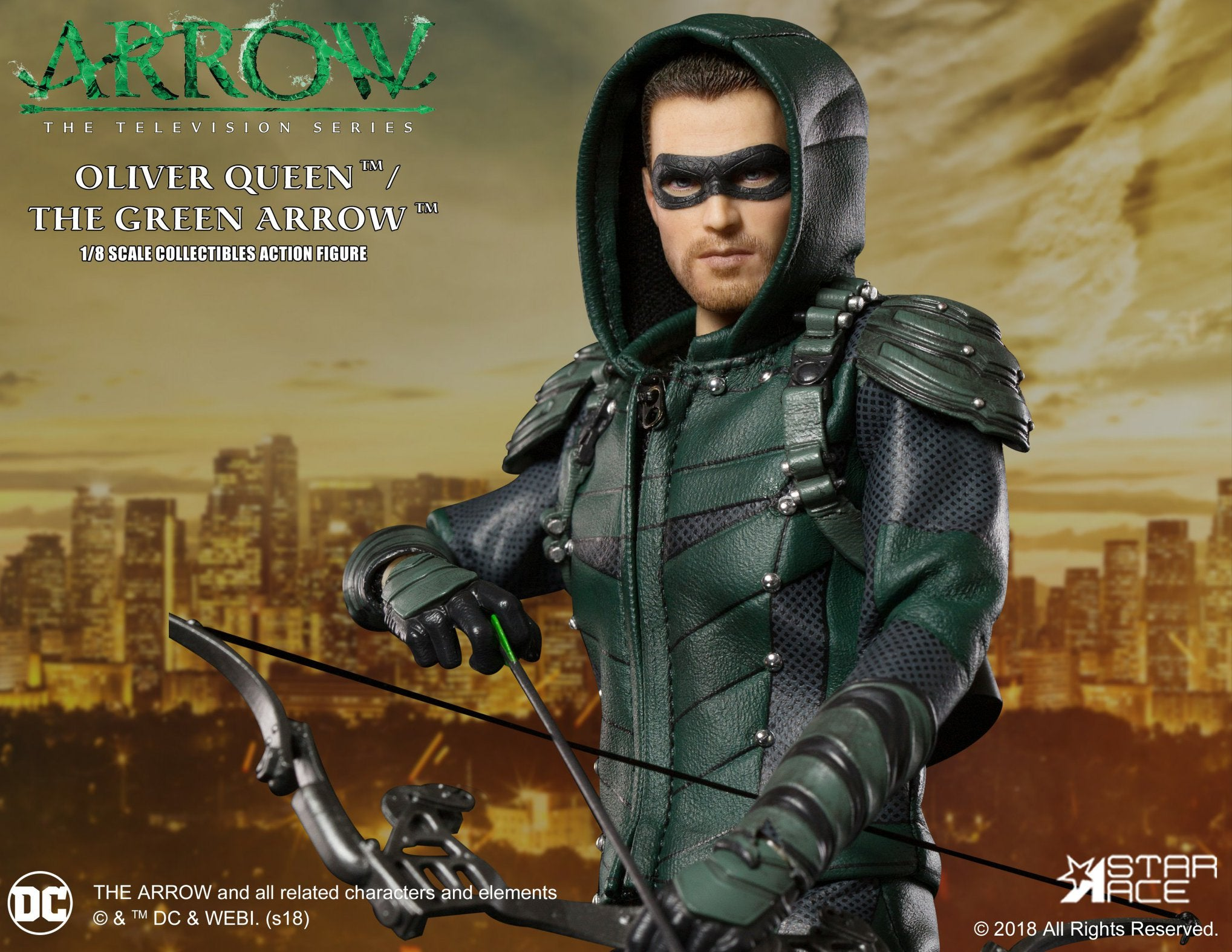 Star Ace Toys - SA8004 - Arrow - Oliver Queen/Green Arrow (Deluxe)