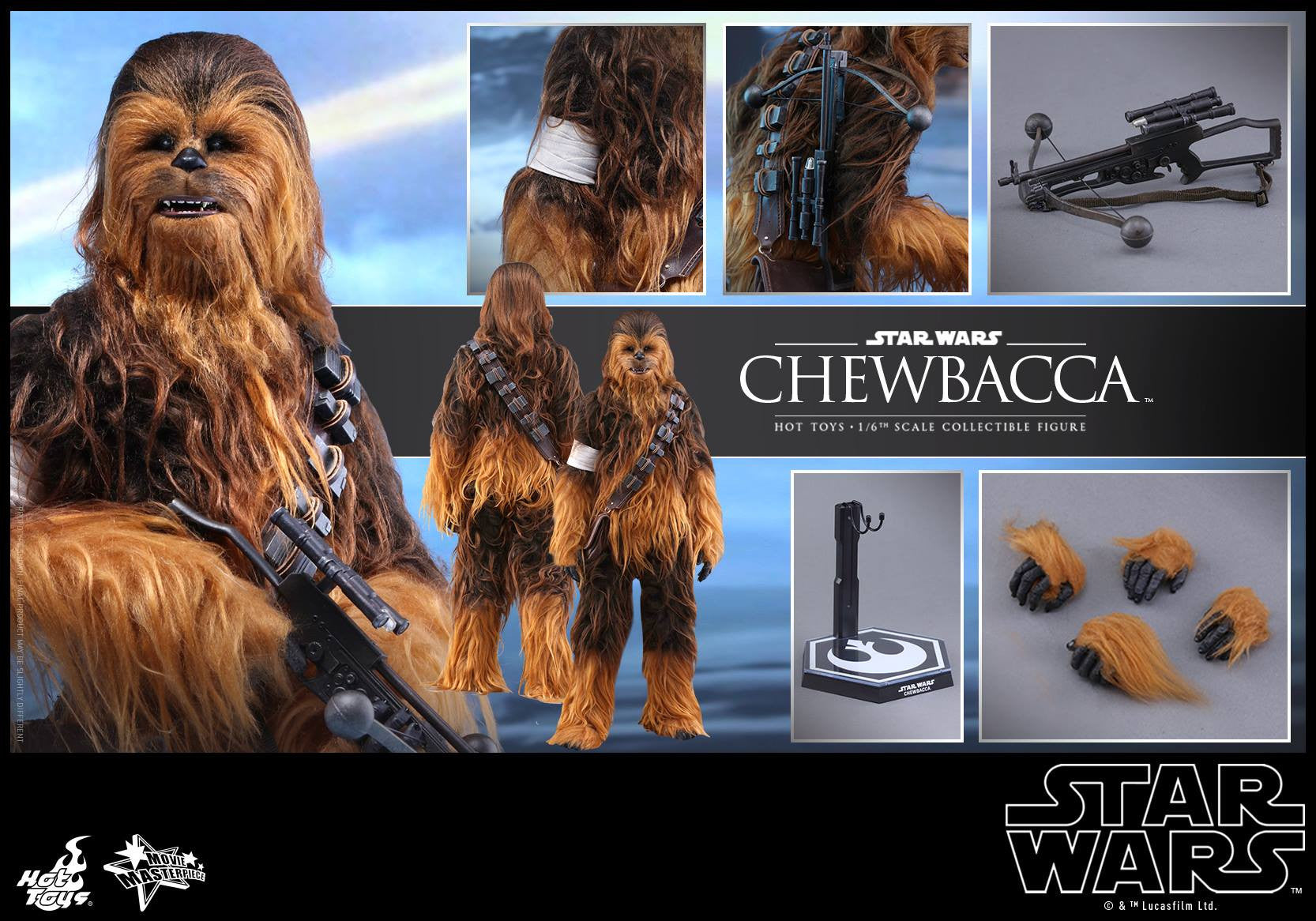 Hot Toys - MMS375 - Star Wars: The Force Awakens - Chewbacca - Marvelous Toys - 12