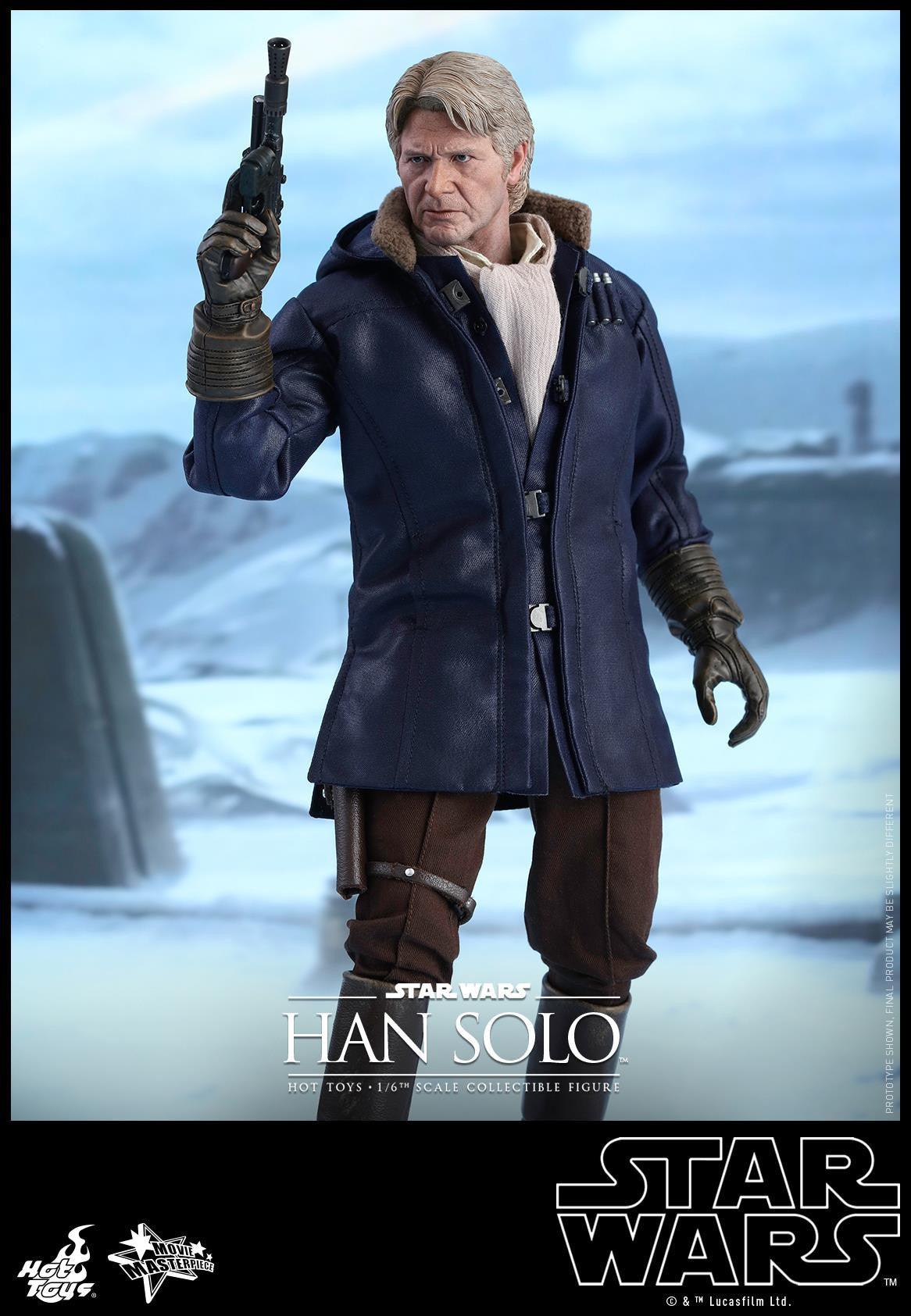 Hot Toys - MMS374 - Star Wars: The Force Awakens - Han Solo - Marvelous Toys - 1