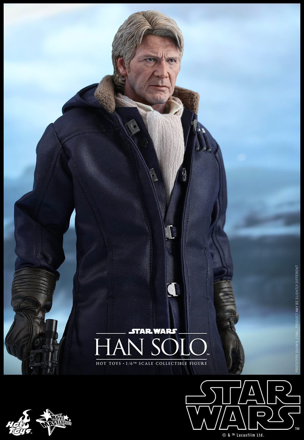 Hot Toys - MMS374 - Star Wars: The Force Awakens - Han Solo - Marvelous Toys - 4