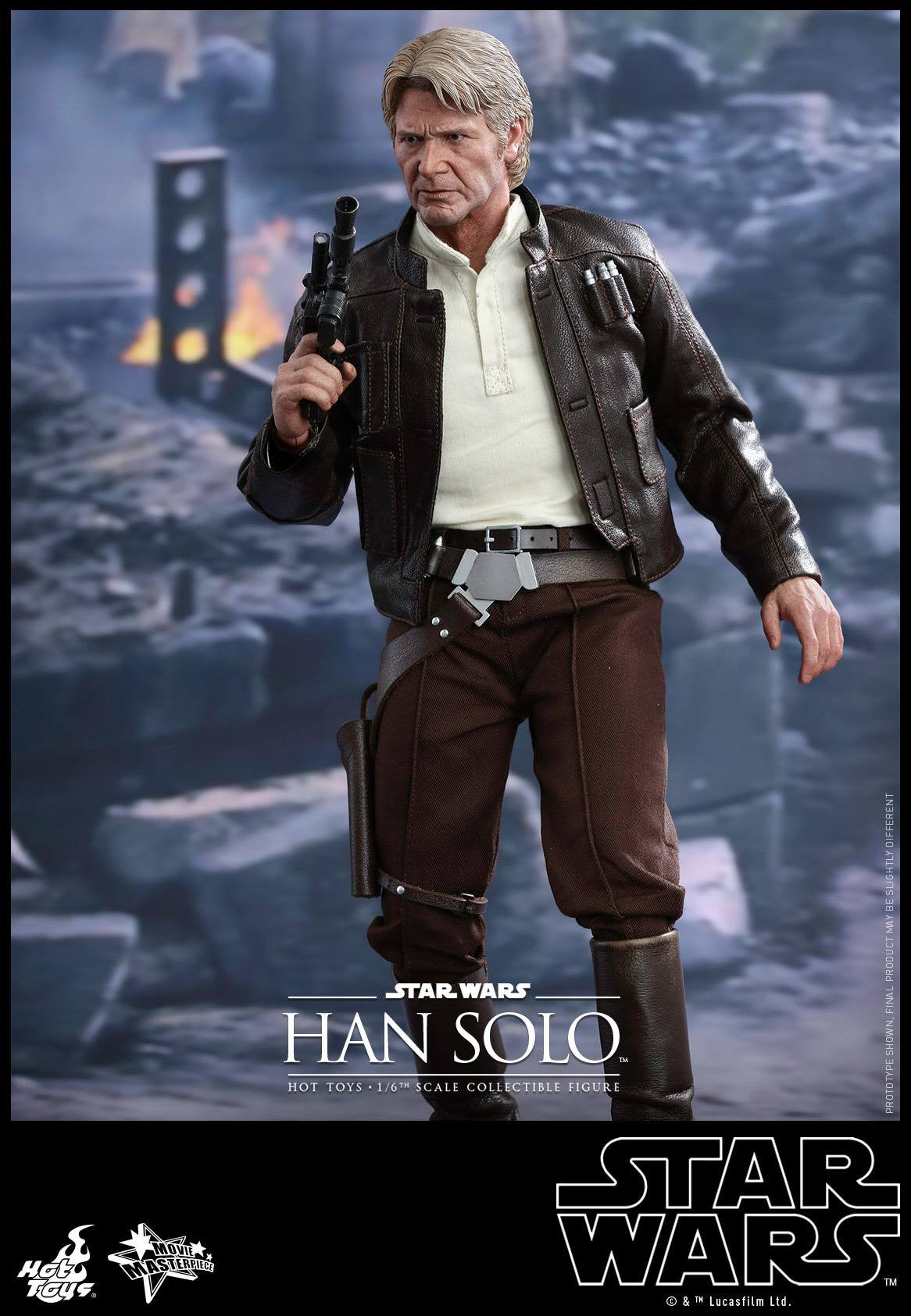 Hot Toys - MMS374 - Star Wars: The Force Awakens - Han Solo - Marvelous Toys - 6