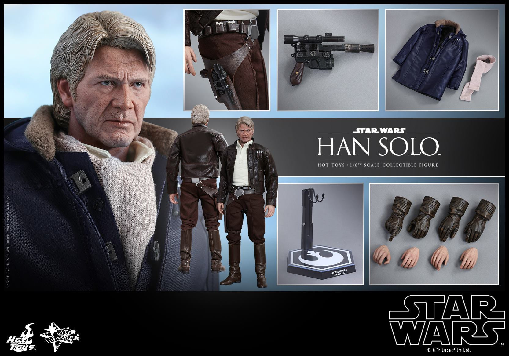 Hot Toys - MMS374 - Star Wars: The Force Awakens - Han Solo - Marvelous Toys - 14