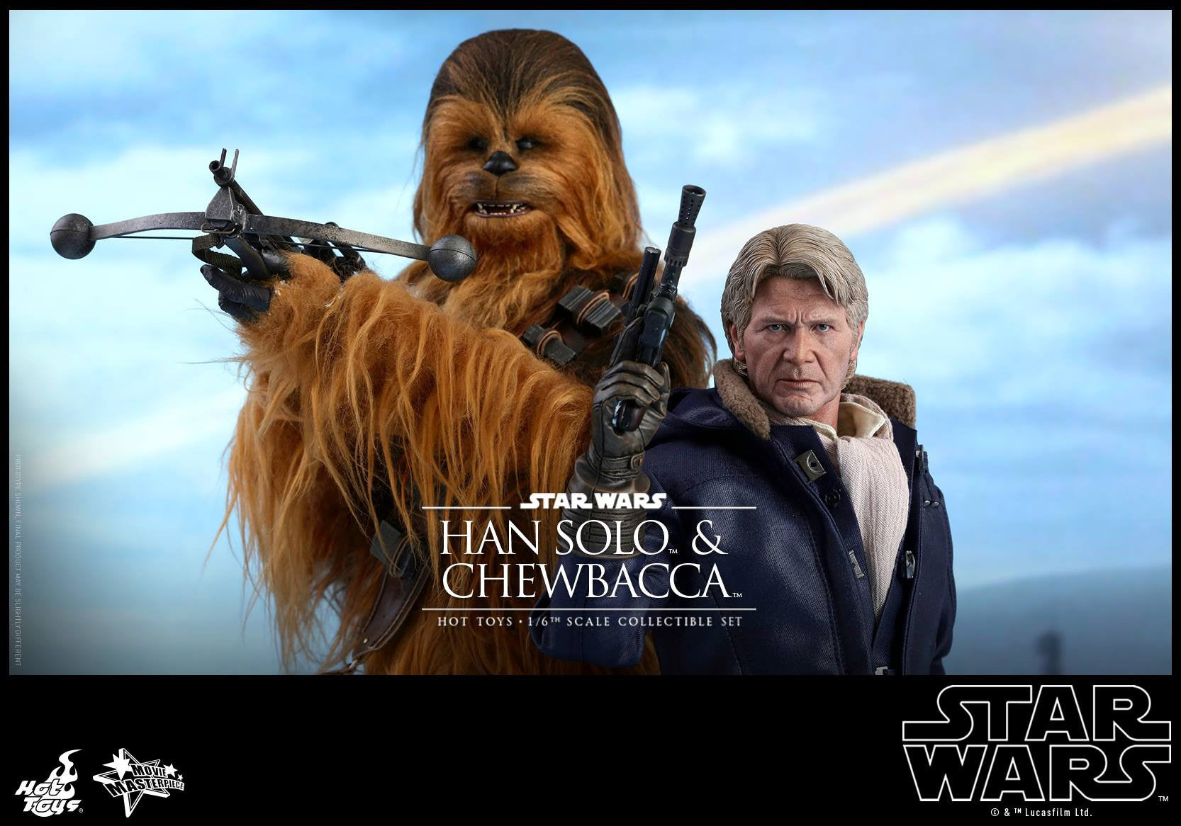 Hot Toys - MMS376 - Star Wars: The Force Awakens - Han Solo & Chewbacca Set - Marvelous Toys - 2