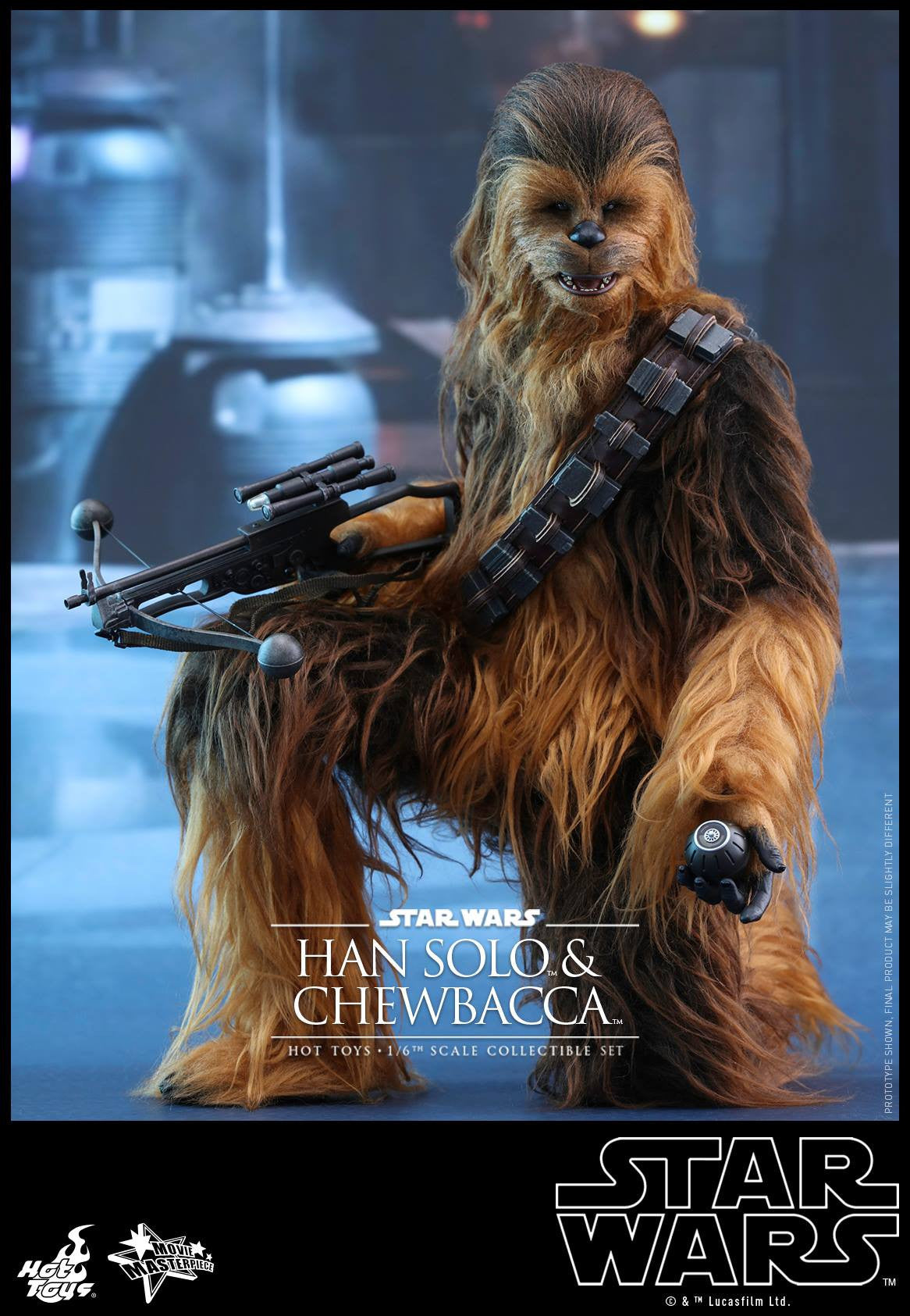 Hot Toys - MMS376 - Star Wars: The Force Awakens - Han Solo & Chewbacca Set - Marvelous Toys - 6