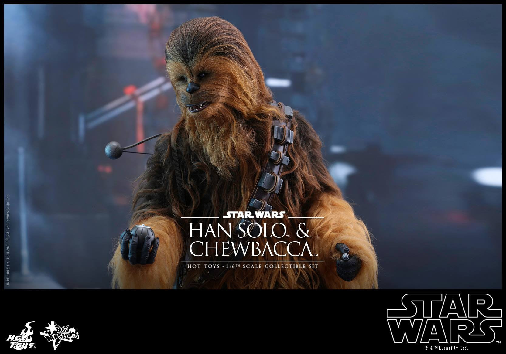 Hot Toys - MMS376 - Star Wars: The Force Awakens - Han Solo & Chewbacca Set - Marvelous Toys - 7