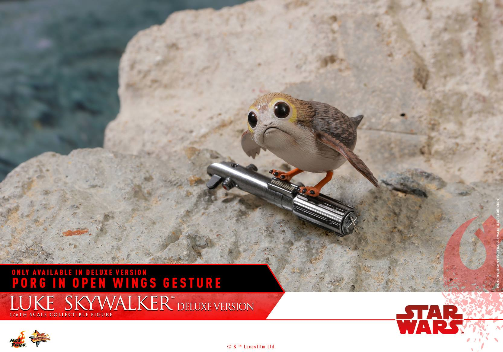 Hot Toys - MMS458 - Star Wars: The Last Jedi - Luke Skywalker (Deluxe Version)
