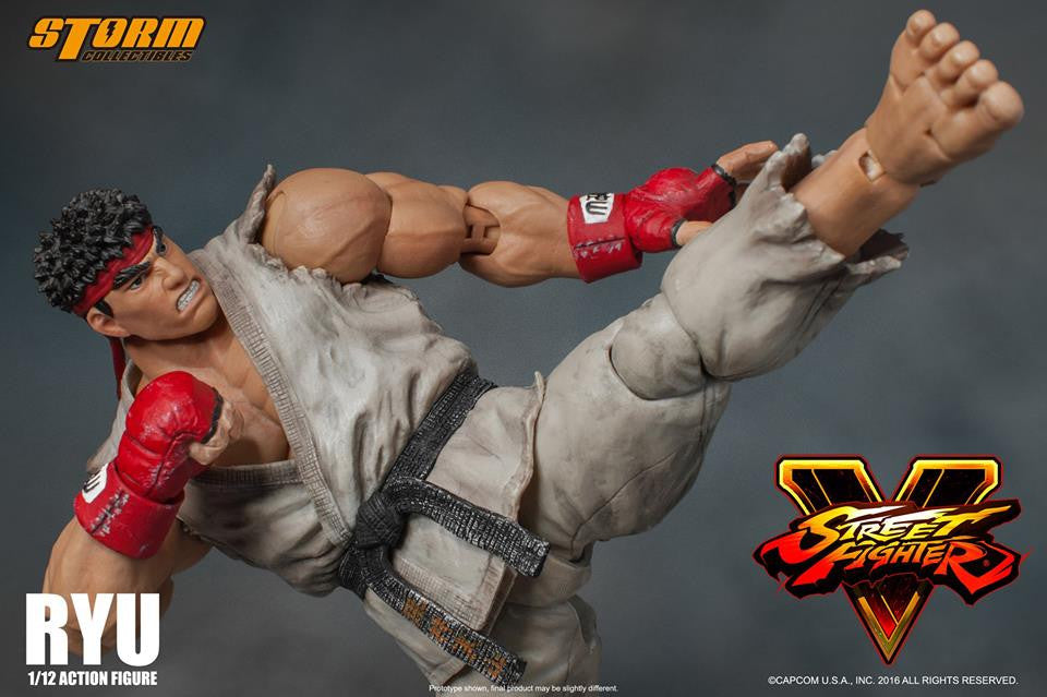 Storm Collectibles - 1:12 Scale Action Figure - Street Fighter V - Ryu - Marvelous Toys - 10