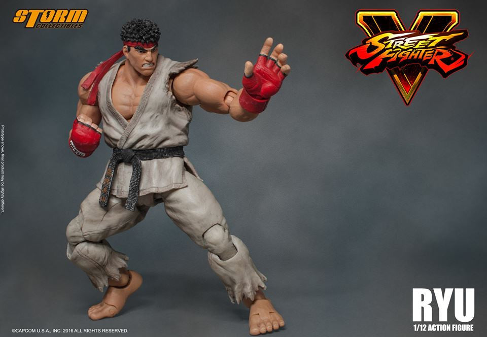 Storm Collectibles - 1:12 Scale Action Figure - Street Fighter V - Ryu - Marvelous Toys - 11