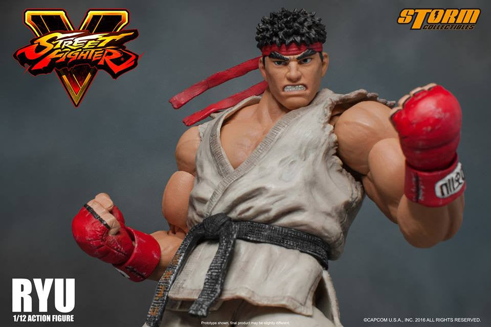 Storm Collectibles - 1:12 Scale Action Figure - Street Fighter V - Ryu - Marvelous Toys - 13