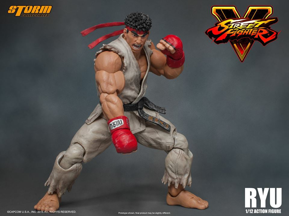 Storm Collectibles - 1:12 Scale Action Figure - Street Fighter V - Ryu - Marvelous Toys - 14