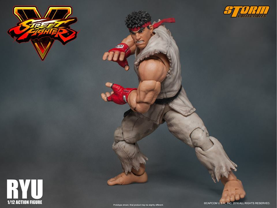 Storm Collectibles - 1:12 Scale Action Figure - Street Fighter V - Ryu - Marvelous Toys - 15