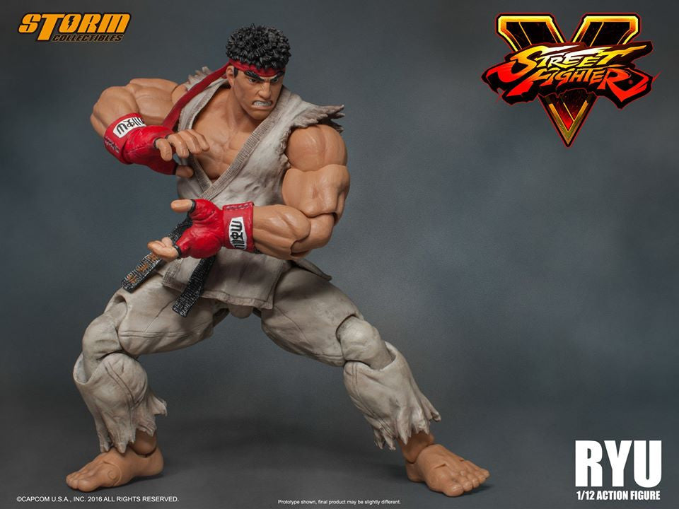 Storm Collectibles - 1:12 Scale Action Figure - Street Fighter V - Ryu - Marvelous Toys - 17