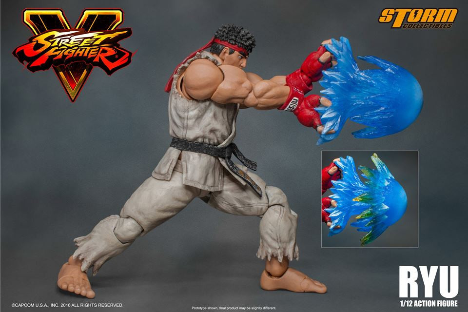 Storm Collectibles - 1:12 Scale Action Figure - Street Fighter V - Ryu - Marvelous Toys - 2