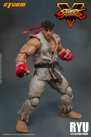 Storm Collectibles - 1:12 Scale Action Figure - Street Fighter V - Ryu - Marvelous Toys - 1