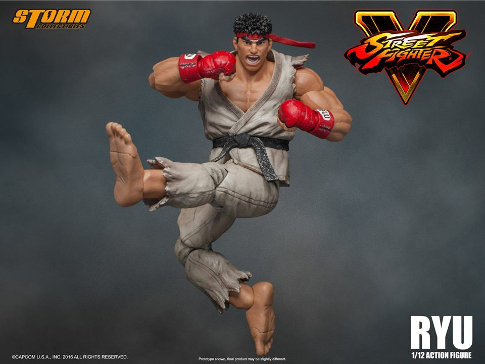 Storm Collectibles - 1:12 Scale Action Figure - Street Fighter V - Ryu - Marvelous Toys - 19