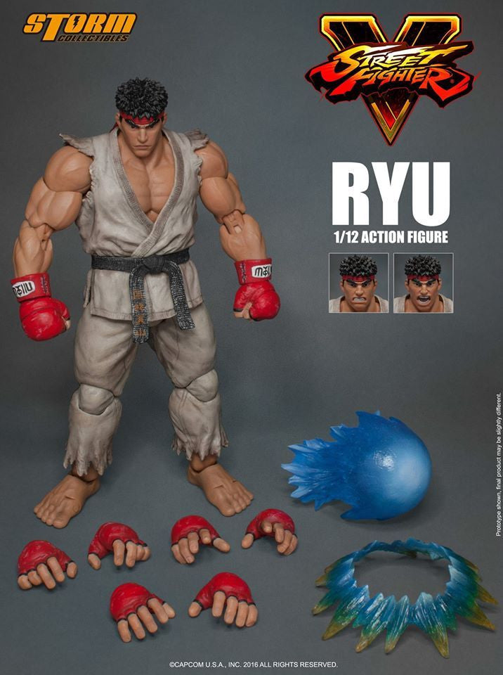 Storm Collectibles - 1:12 Scale Action Figure - Street Fighter V - Ryu - Marvelous Toys - 21