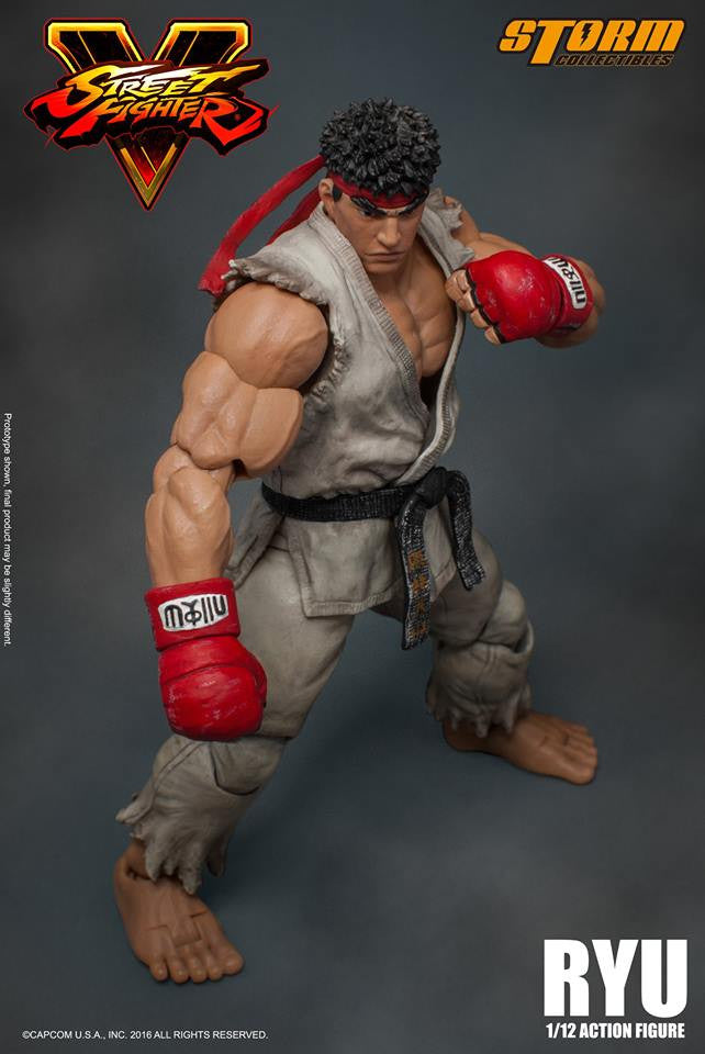Storm Collectibles - 1:12 Scale Action Figure - Street Fighter V - Ryu - Marvelous Toys - 4