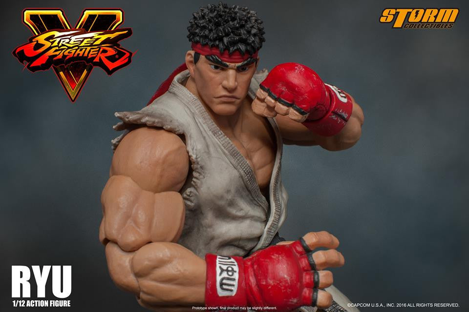 Storm Collectibles - 1:12 Scale Action Figure - Street Fighter V - Ryu - Marvelous Toys - 7