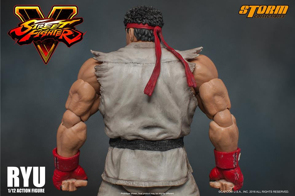 Storm Collectibles - 1:12 Scale Action Figure - Street Fighter V - Ryu - Marvelous Toys - 8