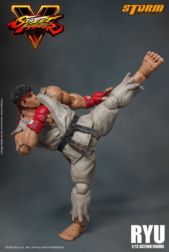 Storm Collectibles - 1:12 Scale Action Figure - Street Fighter V - Ryu - Marvelous Toys - 9