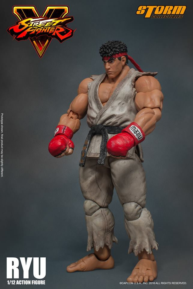 Storm Collectibles - 1:12 Scale Action Figure - Street Fighter V - Ryu - Marvelous Toys - 20