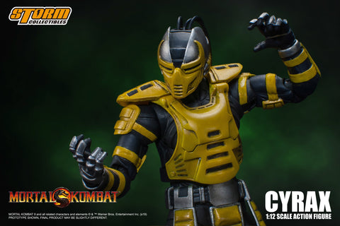 Storm Collectibles - Mortal Kombat - Cyrax (1/12 Scale)