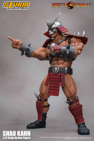 Storm Collectibles - 1:12 Scale Action Figure - Mortal Kombat - Shao Kahn