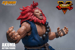 Storm Collectibles - 1:12 Scale Action Figure - Street Fighter V - Akuma