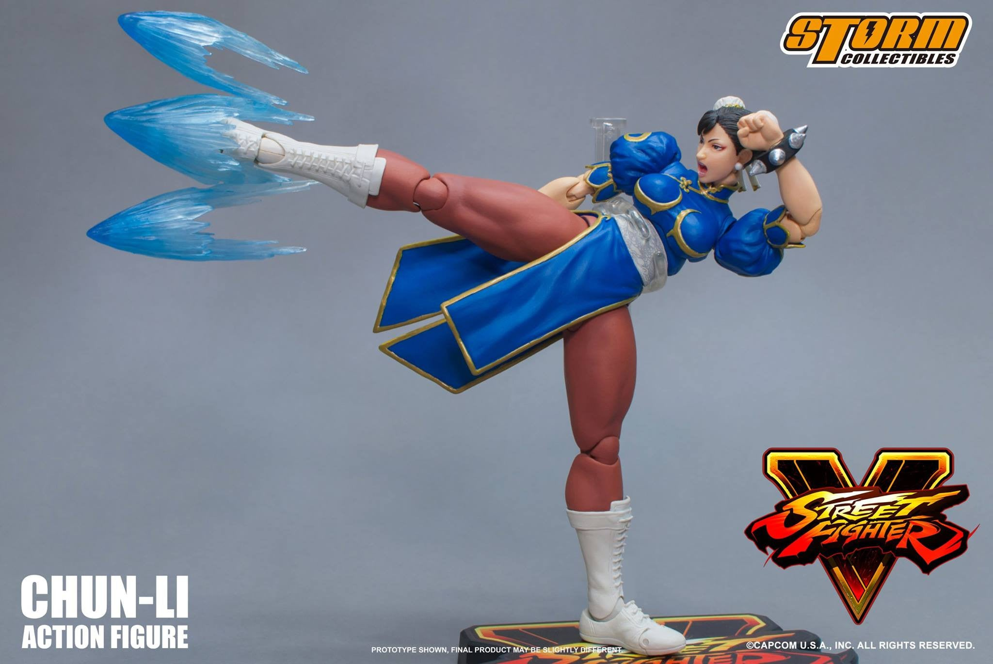 Storm Collectibles - 1:12 Scale Action Figure - Street Fighter V - Chun-Li