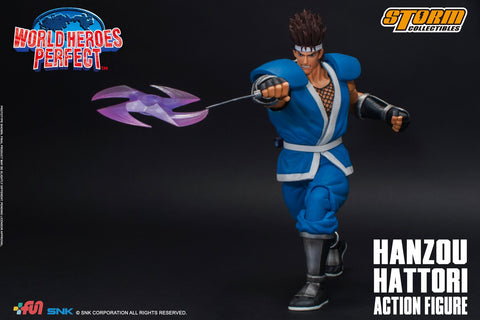 Storm Collectibles - World Heroes Perfect - Hanzou Hattori (1/12 Scale)