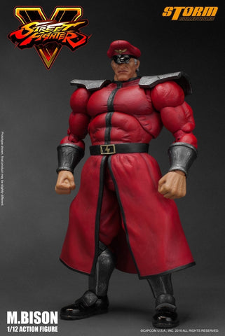 Storm Collectibles - 1:12 Scale Action Figure - Street Fighter V - M. Bison - Marvelous Toys - 2