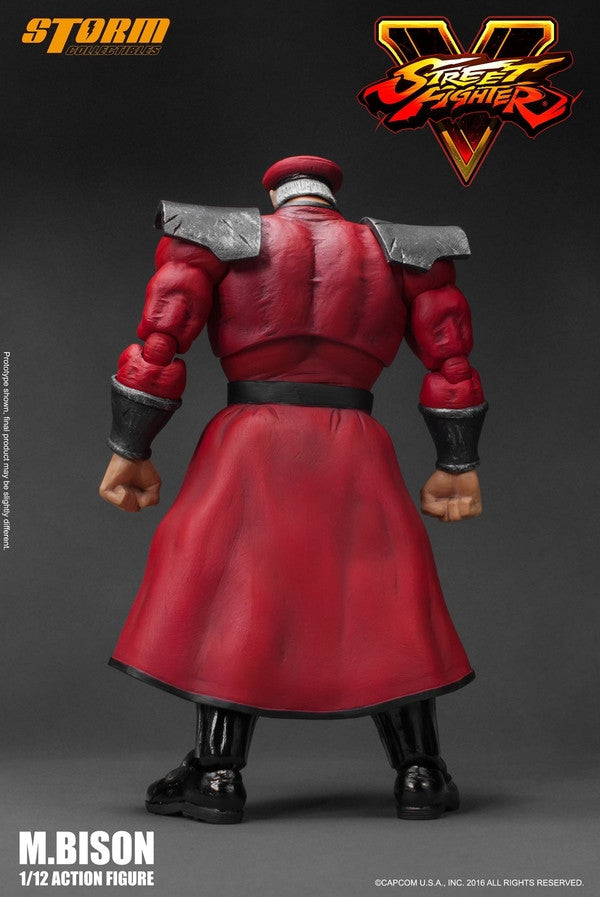 Storm Collectibles - 1:12 Scale Action Figure - Street Fighter V - M. Bison - Marvelous Toys - 3