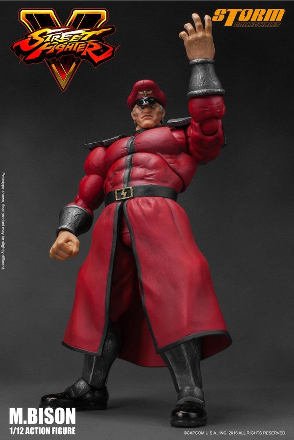 Storm Collectibles - 1:12 Scale Action Figure - Street Fighter V - M. Bison - Marvelous Toys - 4